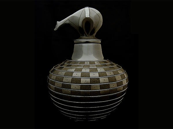 Russell Sanchez (San Ildefonso), Best of Class Pottery