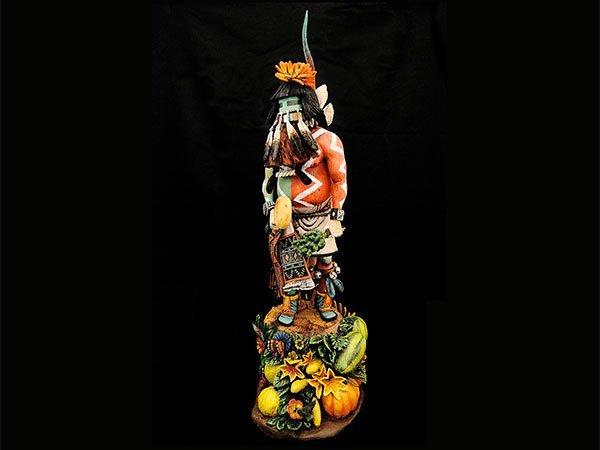 Aaron Honyumptewa (Picuris/Hopi), Best of Class Pueblo Wooden Carvings