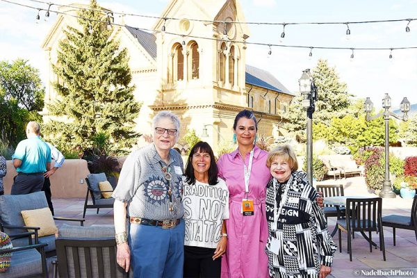JoAnn and Bob Balzer, Jenny Kimball & Kim Peone